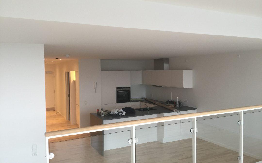 Hjørring midtby – ny maling på loft og vægge