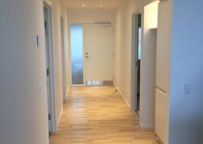 Hjørring midtby - ny maling på loft og vægge - Malerfirmaet Søren Olesen